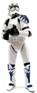 Star Wars Clone Wars LOOSE Figure Elite ARC-170 Clone Trooper with Blaster