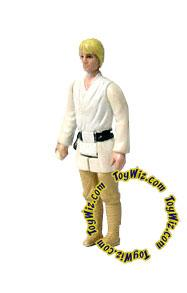 Star Wars 1977 Vintage  Luke Skywalker Brown Hair Variant  Loose Complete C-9 Condition