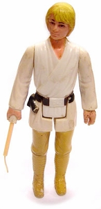 Star Wars 1977 Vintage  Luke Skywalker Yellow Hair  Loose Complete C-4 Condition