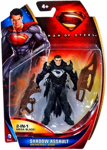 Man of Steel Movie Basic Action Figure Shadow Assault General Zod