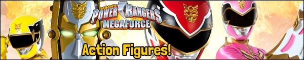 Power Rangers Megaforce Toys & Action Figures