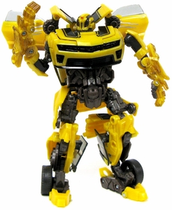 Transformers: Hunt for the Decepticons Deluxe LOOSE Action Figure Cannon Bumblebee [Battle Damaged]