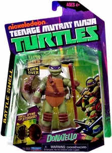 Nickelodeon Teenage Mutant Ninja Turtles Basic Action Figure Battle Shell Donatello