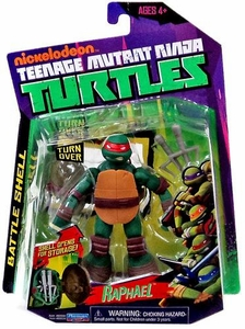 Nickelodeon Teenage Mutant Ninja Turtles Basic Action Figure Battle Shell Raphael