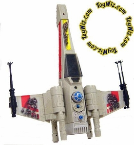 Star Wars Loose Vehicle 1981 Battle Damaged X-Wing C-9 Condition