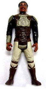 Star Wars 1982 Vintage Lando Skiff Guard (Silver Armor Version) Loose Incomplete C-8 Condition