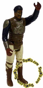 Star Wars 1982 Vintage Lando Skiff Guard (Silver Armor Version) Loose Incomplete C-6 Condition