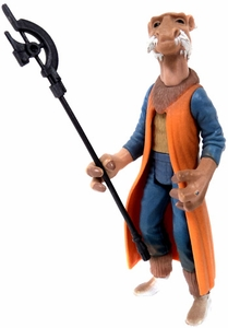 Star Wars POTF2 Power of the Force LOOSE Action Figure Saelt-Marae (Yak Face) with Battle Staff