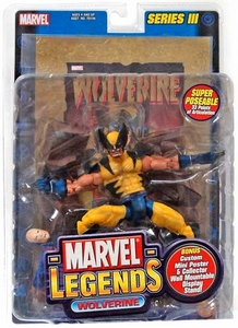 Marvel Legends Series 3 Action Figure Wolverine  [Gold Foil Poster Variant]
