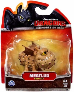 Dragons Defenders of Berk 3 Inch Mini Figure Meatlug [Gronckle]