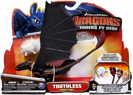 Dragons Riders of Berk Action Figure Toothless {Night Fury} [Catapult Tail Action]