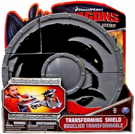 Dragons Defenders of Berk Transforming Shield [Transforms into Crossbow!]