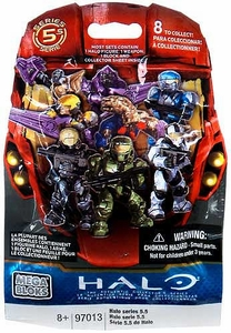 Halo Mega Bloks Series 5.5 Minifigure Mystery Pack [1 RANDOM Mini Figure]