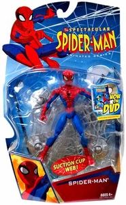 Spectacular Spider-Man Animated Series Action Figure Spider-Man [Suction Cup Web!]