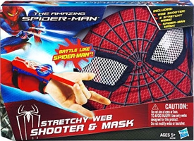 Amazing Spider-Man Movie Stretchy Web Shooter & Mask Bundle