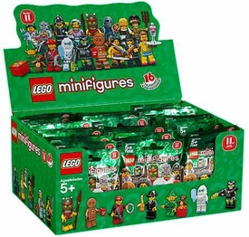 LEGO Minifigure Series 11 Mystery Box [60 Packs]