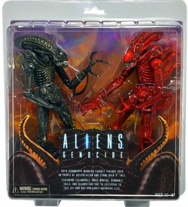 NECA Aliens Action Figure 2-Pack Genocide [2 Alien Warriors]