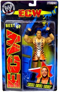 Best of ECW & WCW Wrestling Action Figure RVD Rob Van Dam