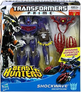 Transformers Prime Beast Hunters Voyager Action Figure Shockwave