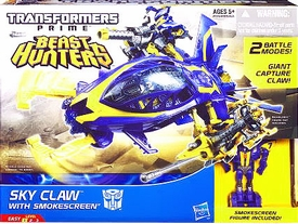 Transformers Prime Beast Hunters Cyberverse Skyclaw & Smokescreen BLOWOUT SALE!