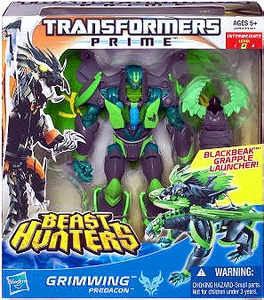 Transformers Prime Beast Hunters Voyager Action Figure Grimwing