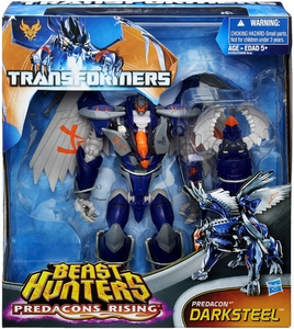 Transformers Prime Beast Hunters Predacons Rising Exclusive Action Figure Darksteel