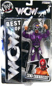 Best of ECW & WCW Wrestling Action Figure Rey Mysterio[Purple Mask & Outfit]