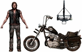 McFarlane Toys Walking Dead TV Series Deluxe Action Figure Set Daryl Dixon & Chopper Hot! Pre-Order ships March