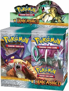 Pokemon Card Game Unleashed (HS2) Booster Box [36 Packs]