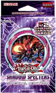 YuGiOh Shadow Specters SE Special Edition Pack [3 Booster Packs & 1 Random Promo Card]