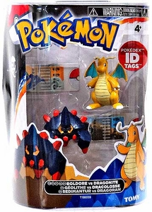 Pokemon TOMY Basic Figure 2-Pack Boldore & Dragonite