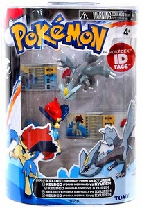 Pokemon TOMY Basic Figure 2-Pack Keldeo & Kyurem