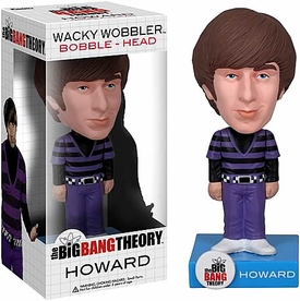 Funko Big Bang Theory Wacky Wobbler Bobble Head Howard