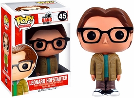 Funko Pop! Big Bang Theory Vinyl Figure Leonard Hofstadter Pre-Order ships August