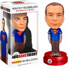 Funko Big Bang Theory Wacky Wobbler Bobble Head Talking Sheldon