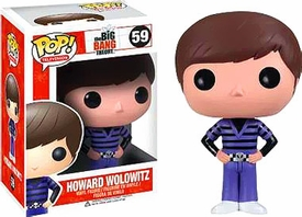 Funko Pop! Big Bang Theory Vinyl Figure Howard Wolowitz New!