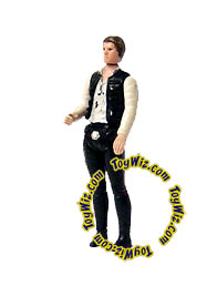 Star Wars 1977 Vintage Han Solo Loose Complete C-9 Condition Large Head Version