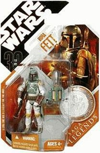 Star Wars 30th Anniversary Saga 2007 Legends Action Figure #11 Boba Fett