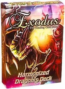 Exodus Trading Card Game Hamonized Starter Deck Dragons Pre-Order ships April
