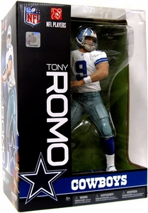 McFarlane Toys NFL Sports Picks 12 Inch Deluxe Action Figure Tony Romo (Dallas Cowboys) Slightly Damaged Package, Mint Contents!