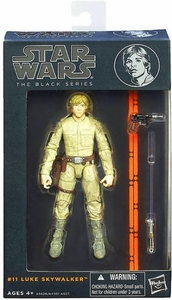 Star Wars Black 6 Inch Series 2 Action Figure Luke Skywalker [Episode V] New!