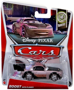 Disney / Pixar CARS MAINLINE 1:55 Die Cast Car Boost with Flames [Tuners 9/10]