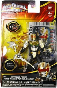 Power Rangers Megaforce Basic Action Figure Metallic Force Robo Knight