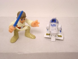 Star Wars Galactic Heroes Luke Skywalker and R2-D2 LOOSE