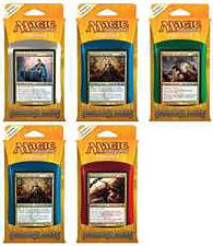 Magic the Gathering Dragon's Maze Set of 5 Intro Decks