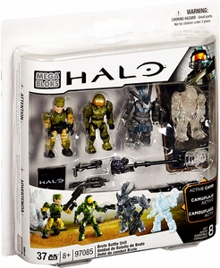 Halo Mega Bloks Set #97085 Brute Battle Pack