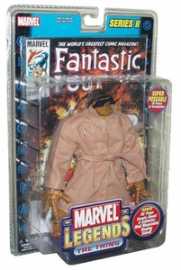 Marvel Legends Series 2 Action Figure The Thing with Trenchcoat Variant