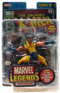Marvel Legends Series 6 Action Figure Wolverine [Unmasked Variant]