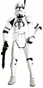 Star Wars 30th Anniversary Saga 2007 Exclusive LOOSE Action Figure Mandalorian Clone Trooper