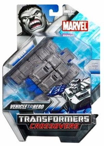 Marvel Transformers Crossovers Hybrid Action Figure Grey Hulk